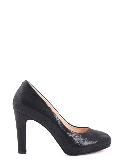 Rouge Topuklu Ayakkabı Siyah